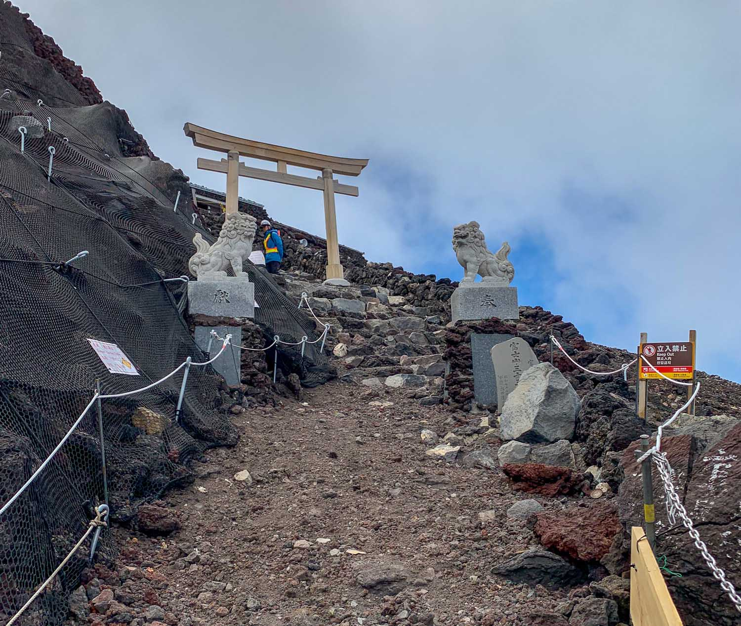 mount fuji summit